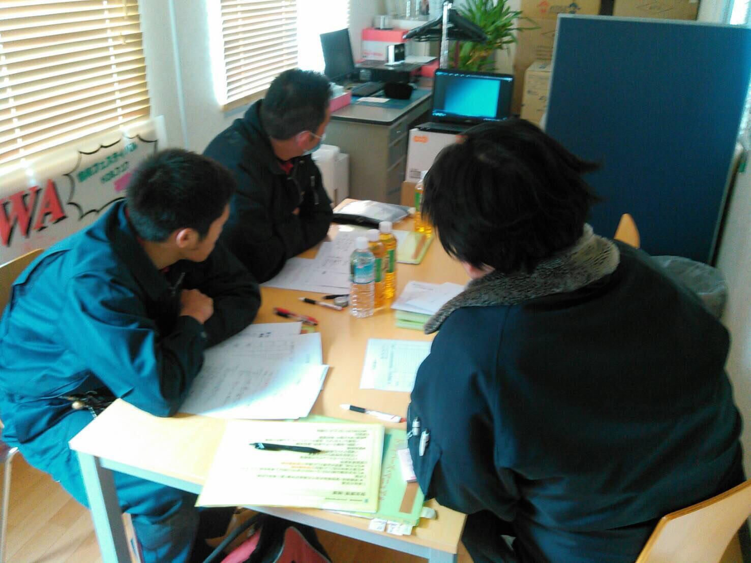 社員を社内研修や外部研修に積極的に参加させ、社員の成長を応援しています。